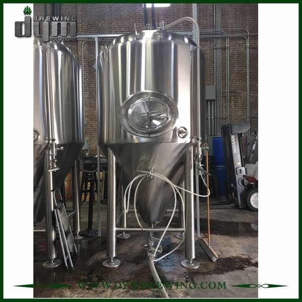 Professional Customized 60HL Unitank Fermenter for Beer Brewery Fermentation with Glycol Jacket