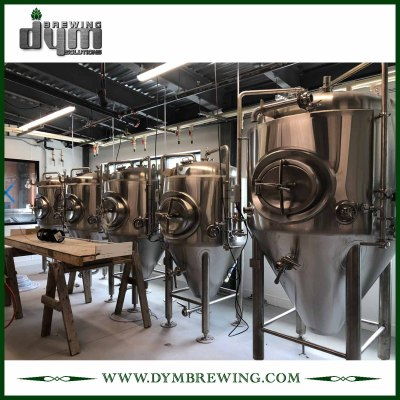 Fermentador Unitank 15HL personalizado profesional para fermentación de cervecería con chaqueta de glicol