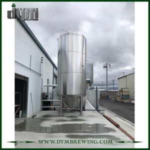 Fermenteur 100HL Unitank adapté aux besoins du client professionnel pour la fermentation de brasserie de bière avec la veste de glycol