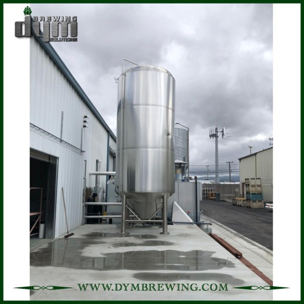 Professional Customized 100HL Unitank Fermenter for Beer Brewery Fermentation with Glycol Jacket
