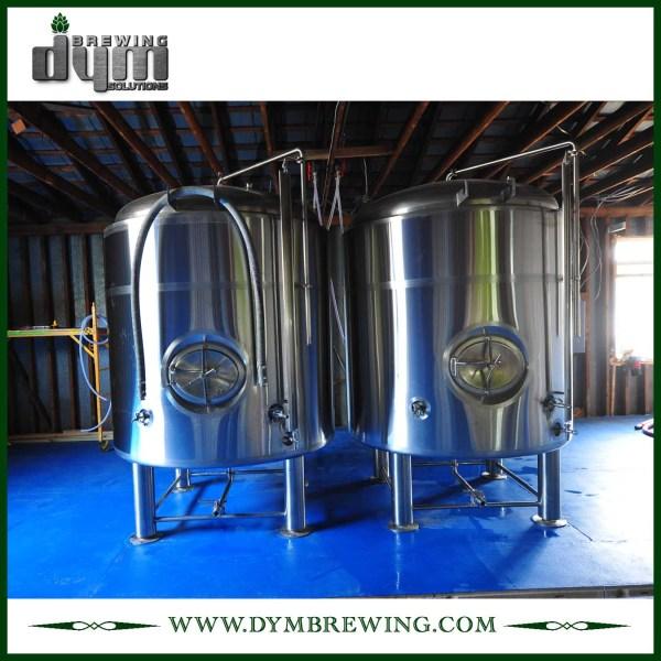 Réservoir de bière lumineux 10bbl personnalisé (EV 10BBL, TV 12BBL) pour brassage de pub