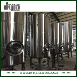 Réservoir de bière lumineux personnalisé 30bbl (EV 30BBL, TV 36BBL) pour brassage de pub