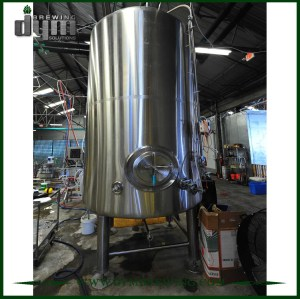 Tanque de cerveza brillante personalizado de 100bbl (EV 100BBL, TV 120BBL) para pub Brewing