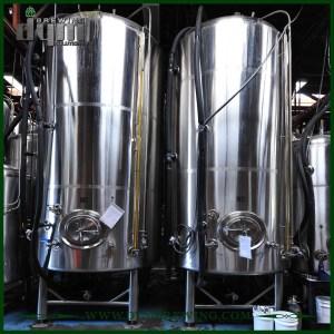 Réservoir de bière lumineux 80bbl personnalisé (EV 80BBL, TV 96BBL) pour brassage de pub