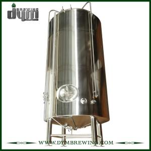 Réservoir de bière lumineux 120bbl personnalisé (EV 120BBL, TV 144BBL) pour brassage de pub