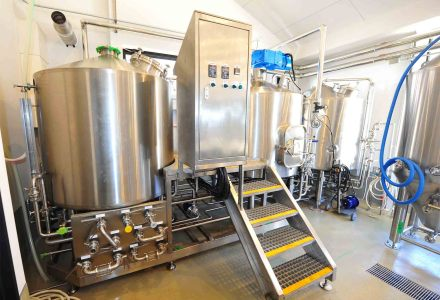DYM's 600L Brewhouse Just Finished the Installation