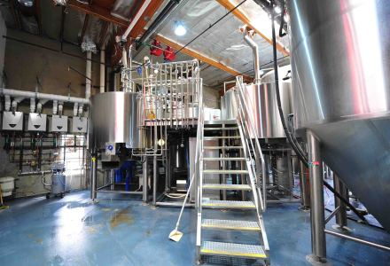 DYM's 25bbl Micro Brewing Equipment is ready for production.