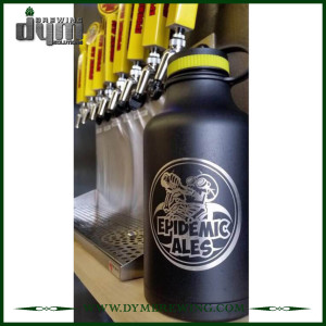 Double Wall Growlers (32oz, 40oz, 64oz) Beer Craft Package Solutions