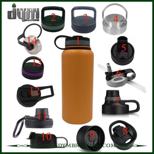 Tapas de accesorios de elaboración de cerveza para Growler personalizado con diferentes tamaños y materiales según sus requisitos
