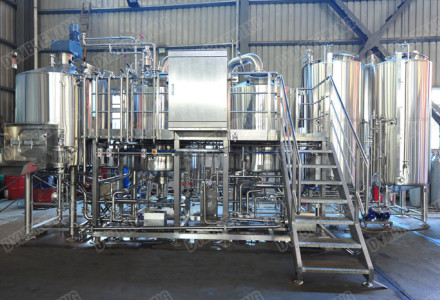 10HL steam heating brewhouse had been finished!