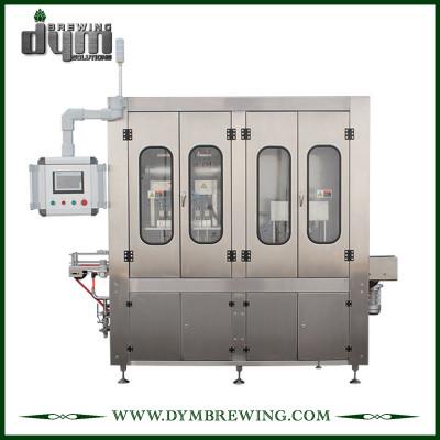 16 ~ 25cpm, máquina de enlatado semiautomática que ahorra espacio de DYM Brewing para latas de 355ml 500ml / 12oz 16oz