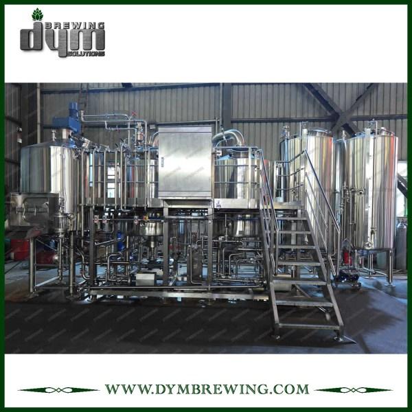 Equipo de elaboración de cerveza de acero inoxidable personalizado 1000L para cervecería