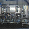 Our 1000L of 3-vessels brewhouse shipped to customers' brewery!
