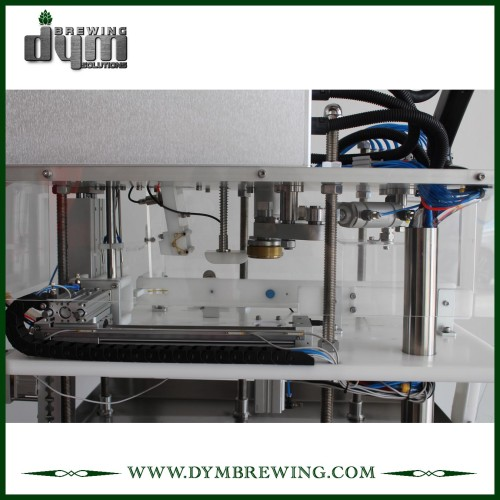 semi-auto beer canning machine for sale | 8~10cpm, space-saving | from DYM beer Brewing for 12oz 16oz cans