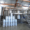 Why is steam heating so widely used in brewery applications?