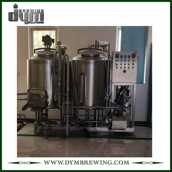 Sistema de elaboración de cerveza piloto personalizado barato 100L para pub