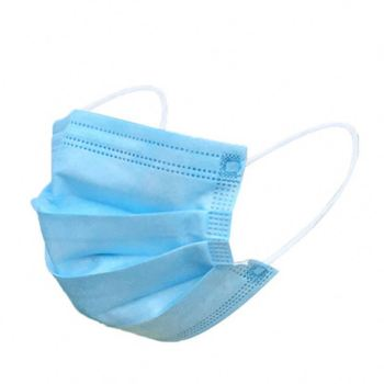 Factory Wholesale Disposable Non Woven Protective 3 Ply Dust Face Mask
