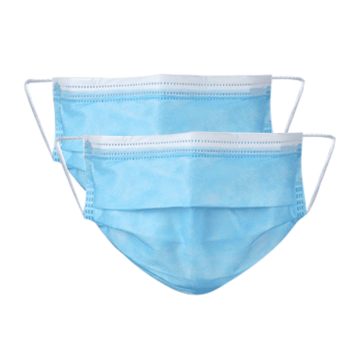 Disposable Wholesale Non Woven 3 Ply Protection Face Mask