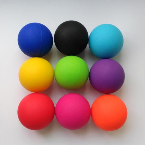 DIFFERENT HARNESS 63MM COLORFUL Lacrosse ball