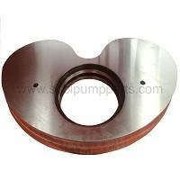 concrete pump parts kidney plate