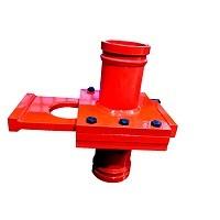 concrete pump parts manual shut off valve