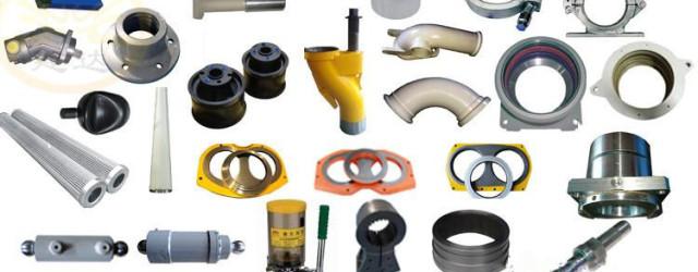 concrete spare parts