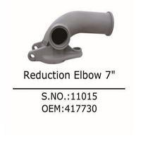 concrete spare parts reducer elbow