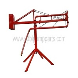 concrete spare parts boom placer