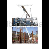 concrete spare parts boom placer