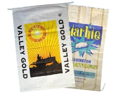 Seeds and potato bag