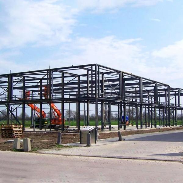 Low Cost Custom Design Industrial Prefab Heavy Galvanized Portal Frame Steel Structure