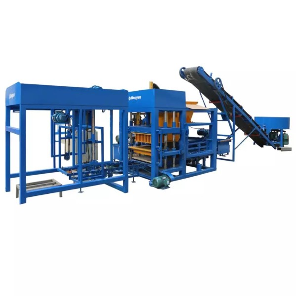 Block Making Machine /Auto Interlocking Brick Machine Price /China Building Material Machinery Paver