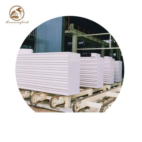 China Manufacturer Customized Precast Lightweight Concrete Panels AAC Wall Block