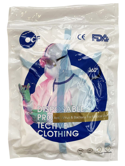 Medical disposable light protective clothing