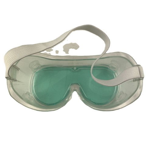 eye protect disposable fog chemical transparent soft eco medical PVC protective use safty Goggles
