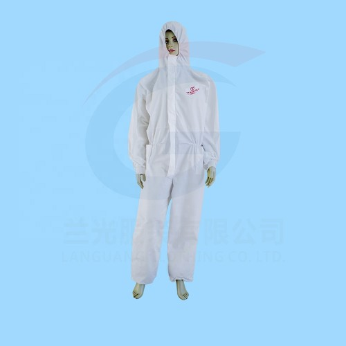 Disposable Protective Body Suits Clothing Hooded Disposable Coverall