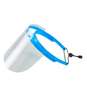 Wholesale Plastic Face Shield Protect Eyes and Face with Protective Clear Film Elastic Band