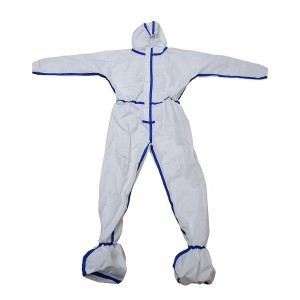 EN 14126 Coverall protective clothing protection suit