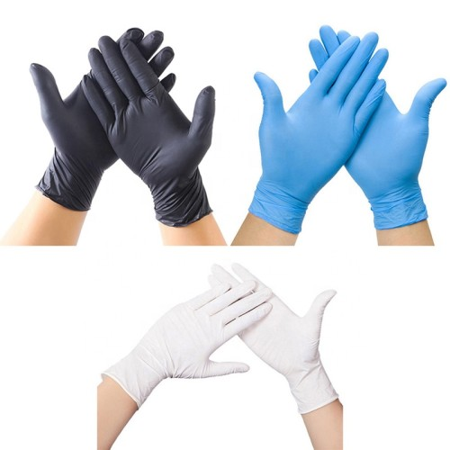 Anti-infective Nitrile Ainy Medical Latex Pvc Disposable Surgical Gloves