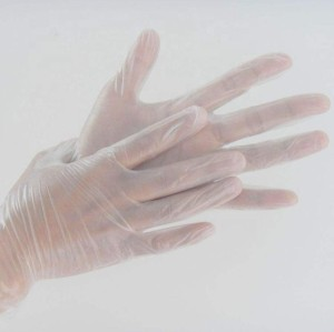 Disposable PVC gloves vinyl gloves safety healthy and eco-friendly