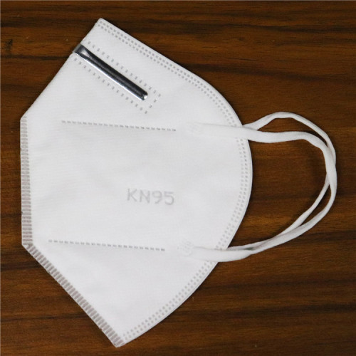 FFP2 FFP 2 P2 4Ply 4 Layer KN95 PM2.5 3d Folding Disposable Respiratory Facemask Face Mask in Stock Without Valve