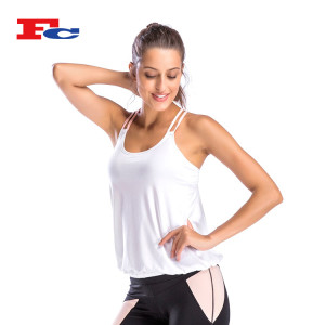 Women's Loose Fit Tank Top Wholesale