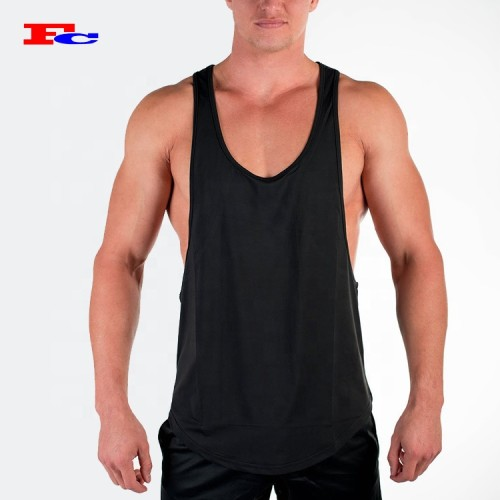 Athletic Tank Tops Wholesale Low Cut  Gym Stringer Tank Top Manufacturer