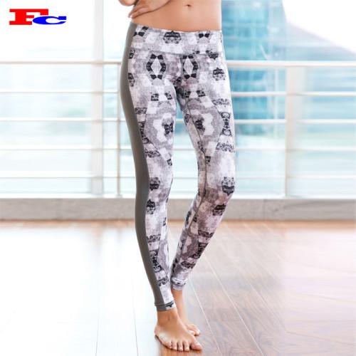 Premium Off-White Print Yoga Pants In Bulk