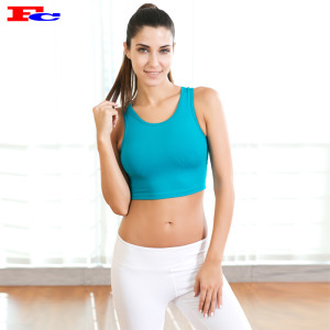 Lake Blue Top Sports Bras Wholesale