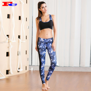 Activewear Clothing Manufacturers-Starry Sky Pattern Color Matching Private Label Activewear
