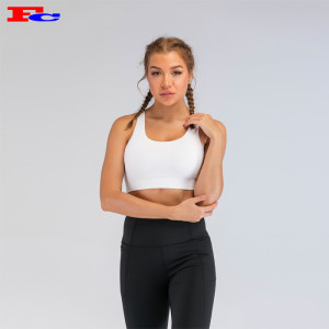 White Mesh Sports Bra Wholesale Suppliers