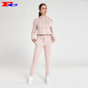 Nude Pink Workout Clothes Wholesale  With White Sides