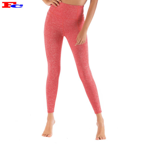Coral Pink Womens Yoga Pants Wholesale