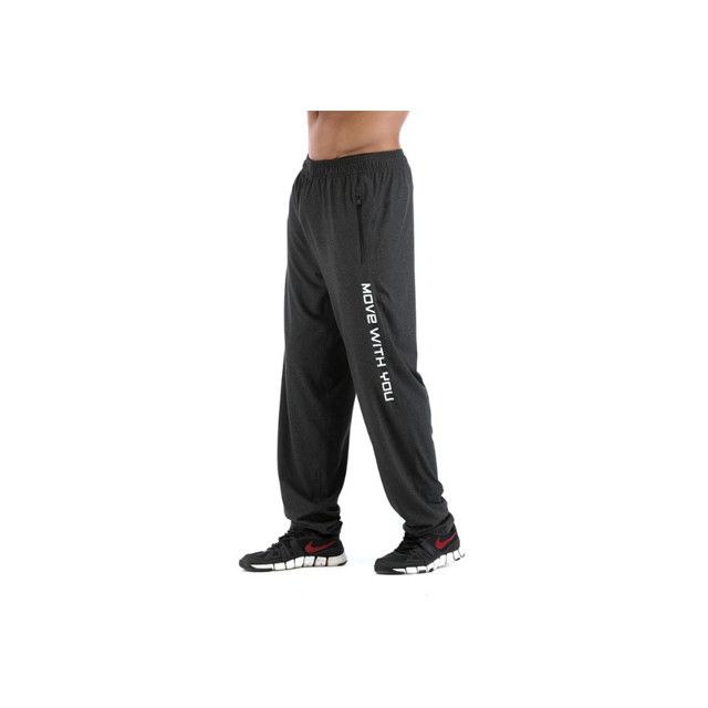 Personalized Black Joggers With Letters On The Sides Sweatpants Manufacturers